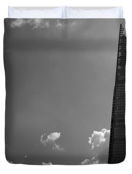 The Shard London Duvet Cover by Martin Newman