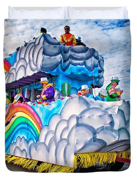 The Spirit of Mardi Gras Duvet Cover by Steve Harrington