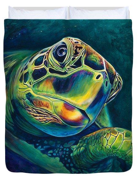 Tranquility Duvet Cover by Scott Spillman