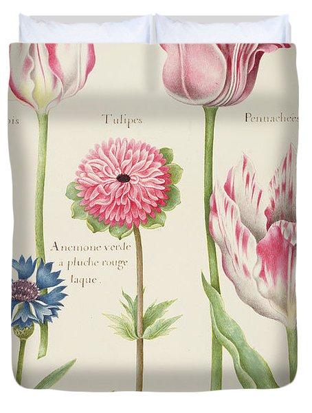Tulips Duvet Cover by Nicolas Robert