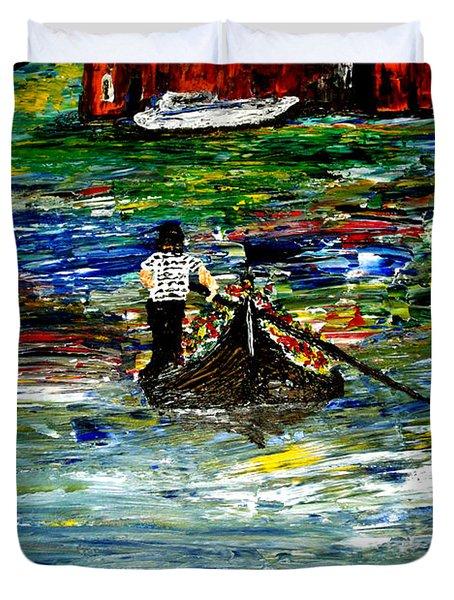 Venice Spring Duvet Cover by Mark Moore