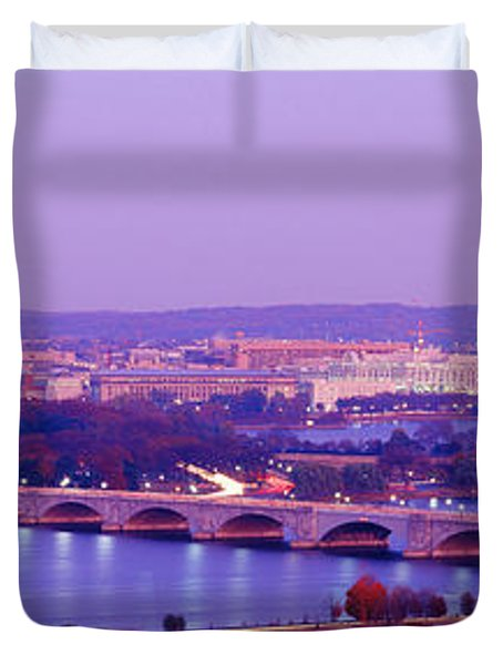 Washington Dc Duvet Cover by Panoramic Images