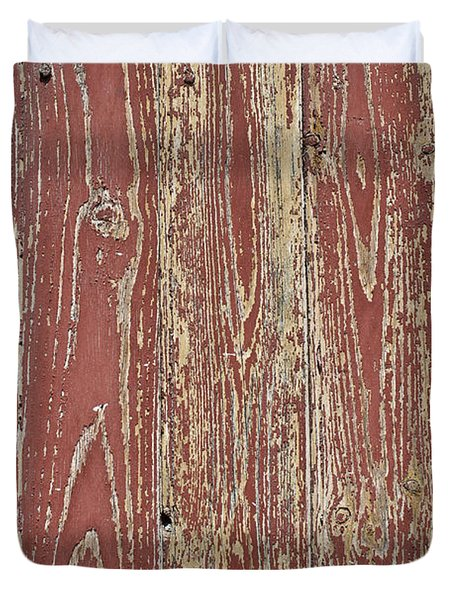 Weathered And Worn Duvet Cover by Nomad Art And  Design