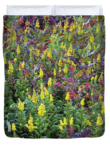 Wildflower Meadow Duvet Cover by John Greim