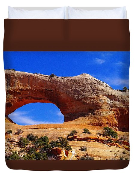 Wilsons Arch Duvet Cover by Jeff Swan