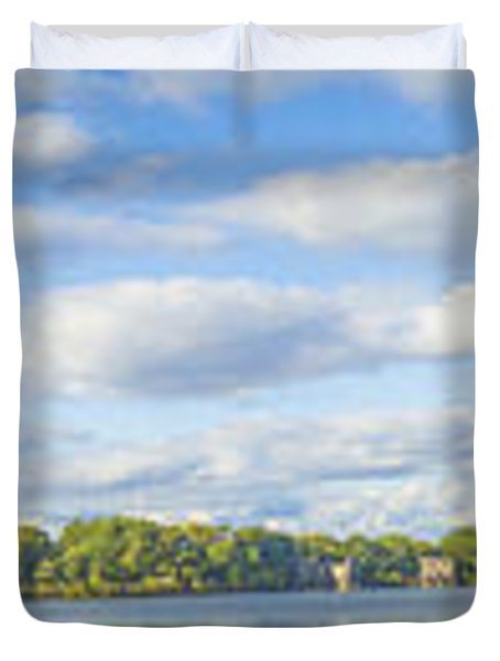 Central Park Duvet Cover by Theodore Jones