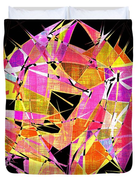 1102 Abstract Thought Duvet Cover by Chowdary V Arikatla