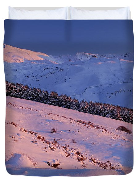 Sierra Nevada Duvet Cover by Guido Montanes Castillo