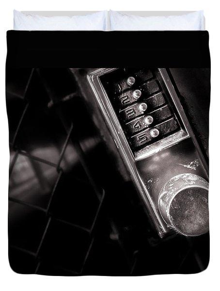 12345 Duvet Cover by Bob Orsillo