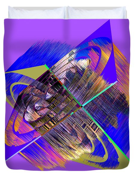 1422 Abstract Thought Duvet Cover by Chowdary V Arikatla