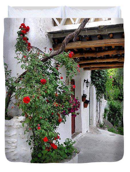 Alpujarras In Granada Duvet Cover by Guido Montanes Castillo