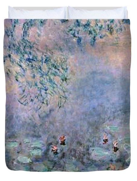 Water Lilies Duvet Cover by Claude Monet
