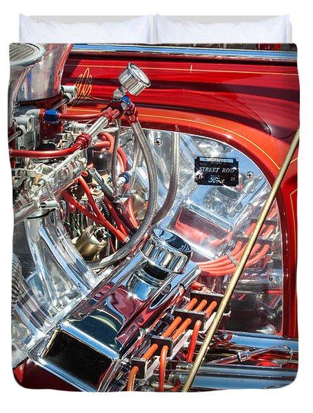 1923 Ford T-bucket Duvet Cover by Jill Reger