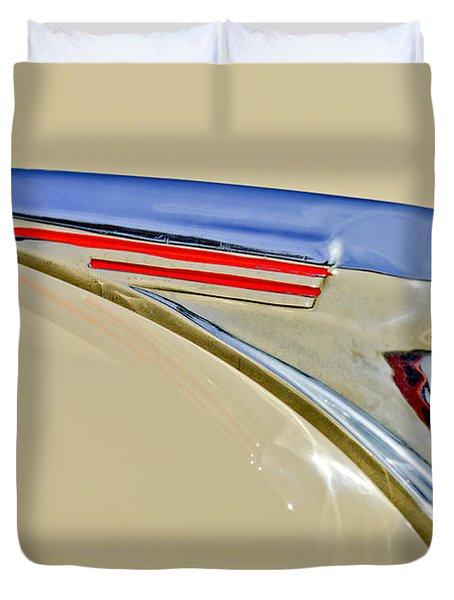 1940 Chevrolet Pickup Hood Ornament 2 Duvet Cover by Jill Reger