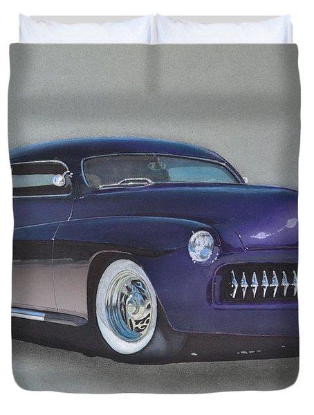 1949 Mercury Duvet Cover by Paul Kuras