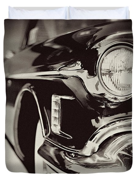 1950s Cadillac No. 1 Duvet Cover by Lisa Russo