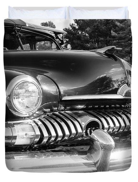 1951 Mercury Coupe - American Graffiti Duvet Cover by Edward Fielding