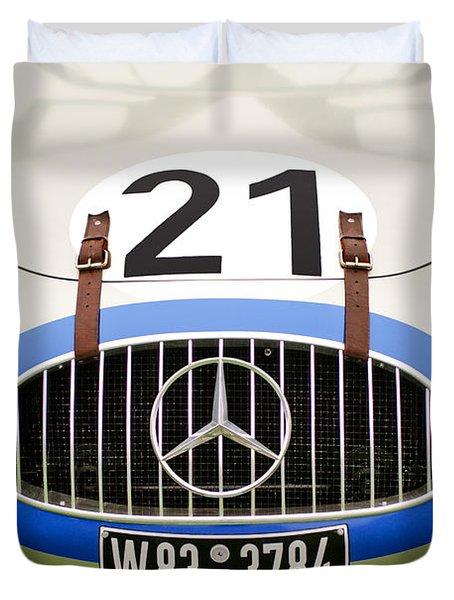 1952 Mercedes-Benz W194 Coupe Duvet Cover by Jill Reger