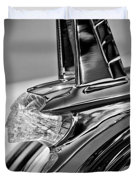 1953 Pontiac Hood Ornament 4 Duvet Cover by Jill Reger