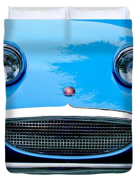 1960 Austin-Healey Sprite Duvet Cover by Jill Reger