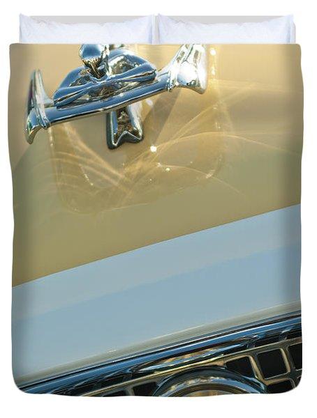 1960 Nash Metropolitan 3 Duvet Cover by Jill Reger