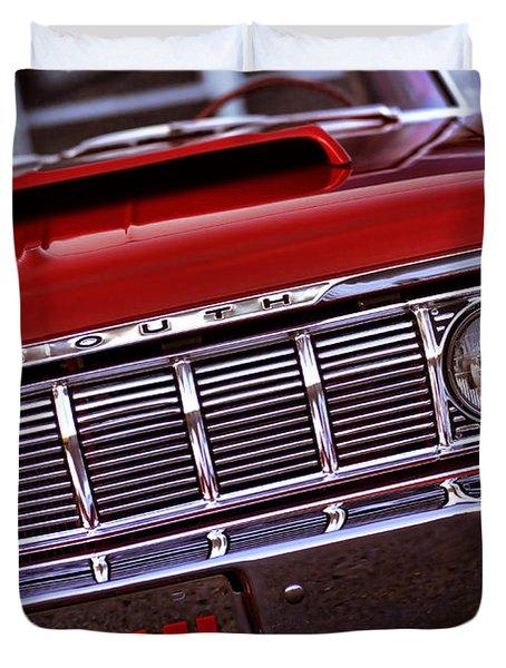 1964 Plymouth Savoy Duvet Cover by Gordon Dean II