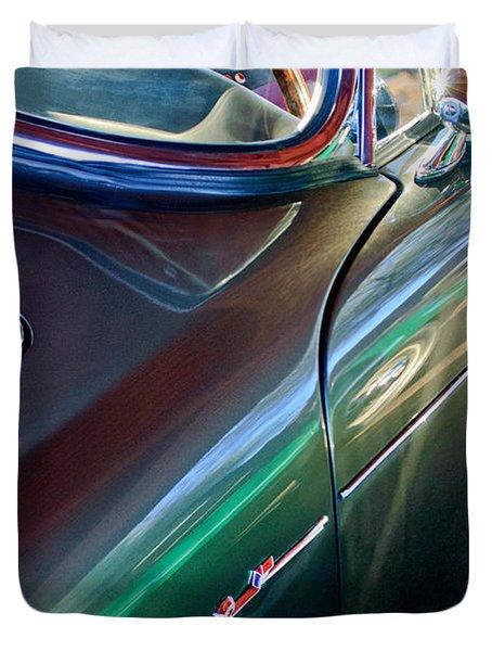 1965 Sunbeam Tiger Duvet Cover by Jill Reger