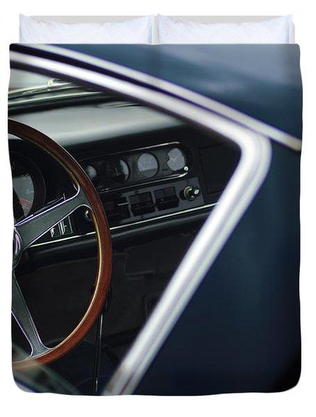 1967 Ferrari 275 GTB-4 Berlinetta Duvet Cover by Jill Reger