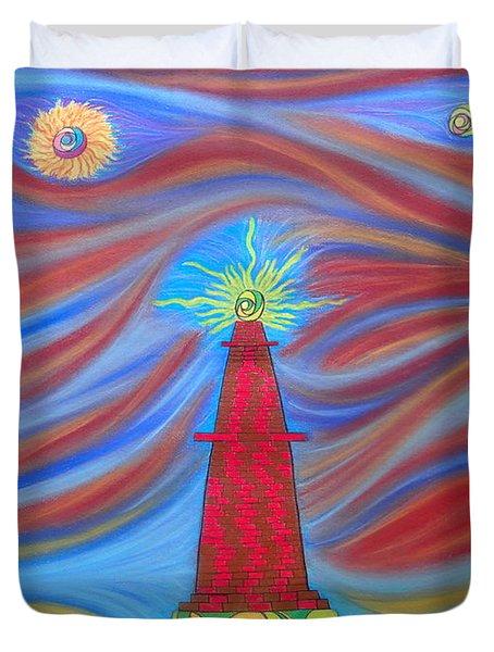 1kin Duvet Cover by Robert Nickologianis