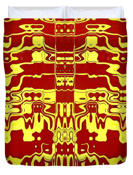 Abstract Series 1 Duvet Cover by J D Owen