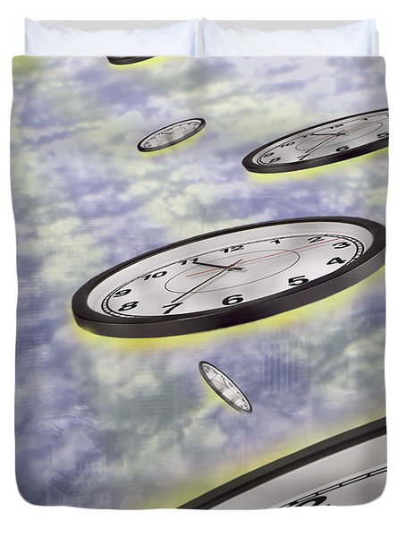 As Time Goes By Duvet Cover by Mike McGlothlen