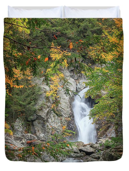 Bash Bish Falls Duvet Cover by Bill  Wakeley
