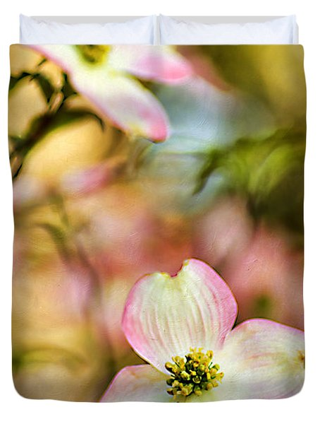 Blooms Of Spring Duvet Cover by Darren Fisher