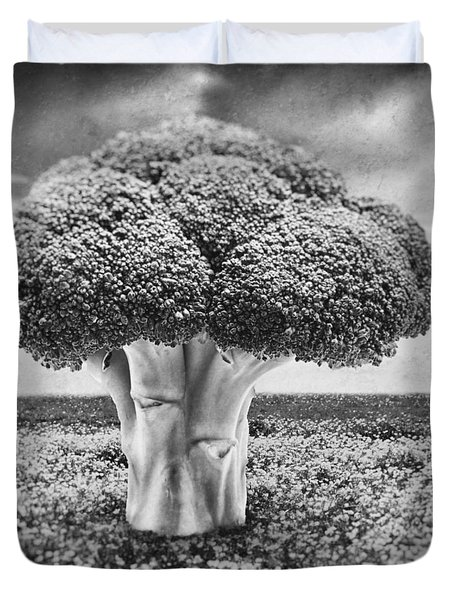 Broccoli Tree Duvet Cover by Wim Lanclus
