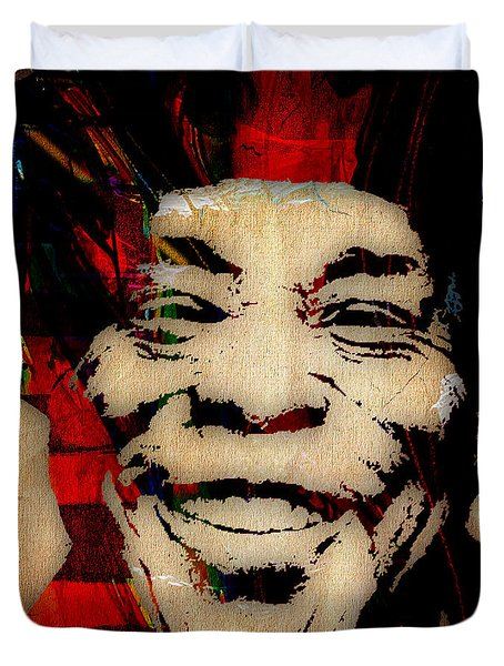 Buddy Guy Collection Duvet Cover by Marvin Blaine