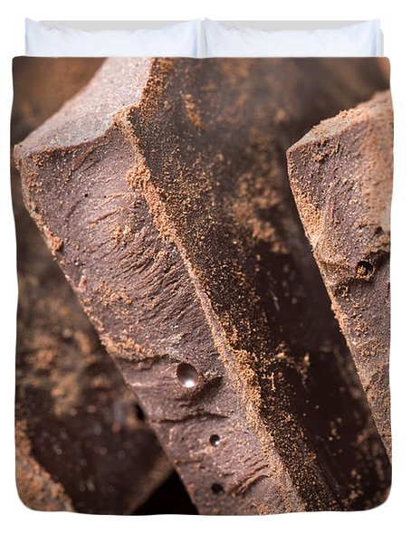 Chocolate Duvet Cover by Frank Tschakert