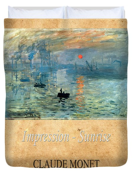 Claude Monet 2 Duvet Cover by Andrew Fare
