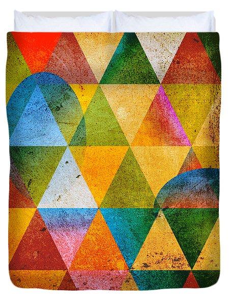 Contemporary Duvet Cover by Mark Ashkenazi
