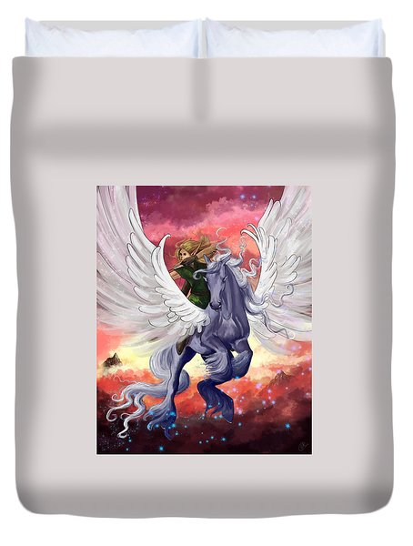 Fearless Duvet Cover by Kate Black