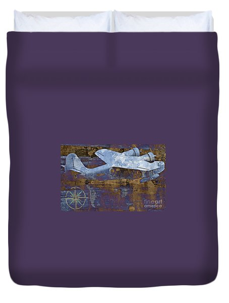 Flight Duvet Cover by Molly McPherson
