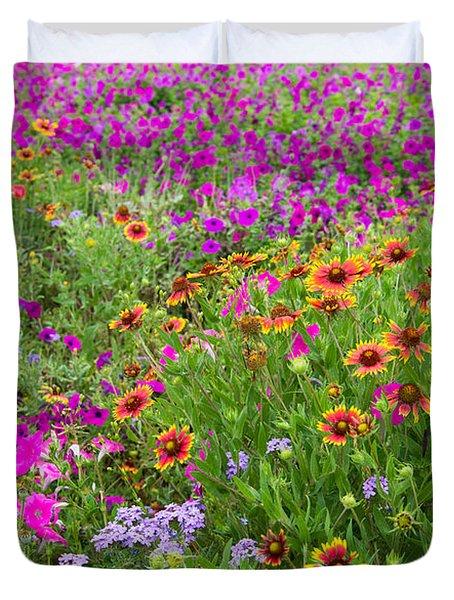 Garden Delight Duvet Cover by Lynn Bauer