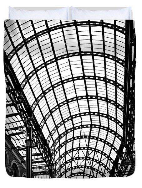 Hay's Galleria roof Duvet Cover by Elena Elisseeva