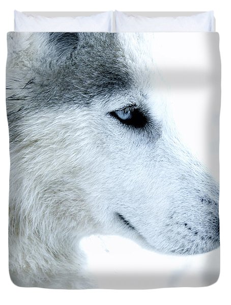 Husky Duvet Cover by Stylianos Kleanthous
