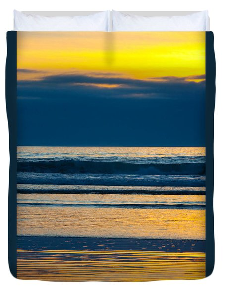 Layers Duvet Cover by Dana Kern