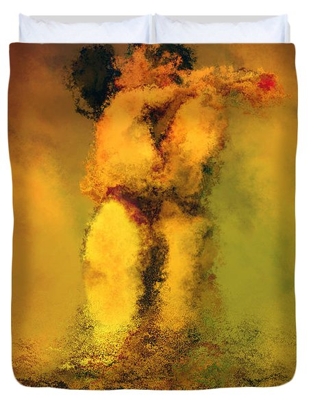 Lovers Duvet Cover by Kurt Van Wagner
