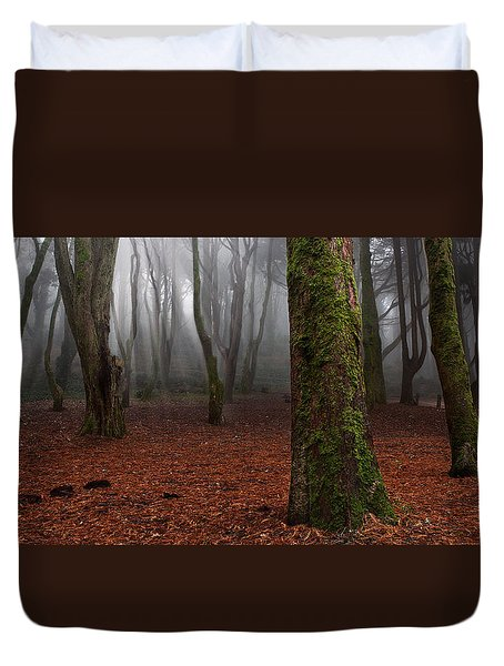 Magic light Duvet Cover by Jorge Maia