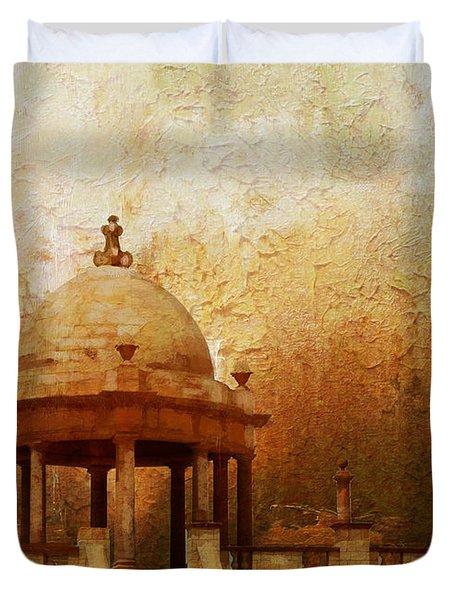 Makli Hill Duvet Cover by Catf