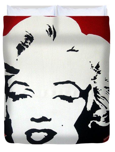 Marilyn Monroe Duvet Cover by Venus
