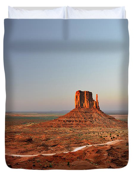 Monument Valley Duvet Cover by Christine Till