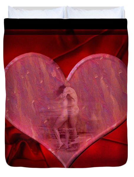 My Hearts Desire Duvet Cover by Kurt Van Wagner